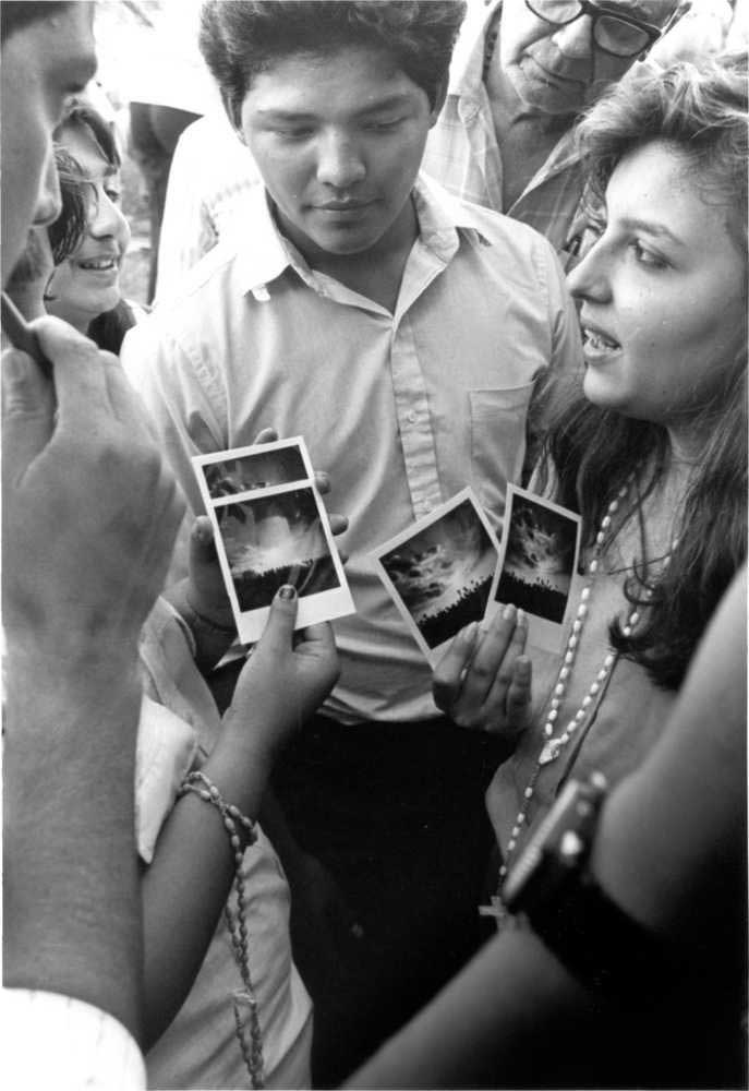 Photos of the miracle of the sun in Lubbock Texas August 15, 1988
